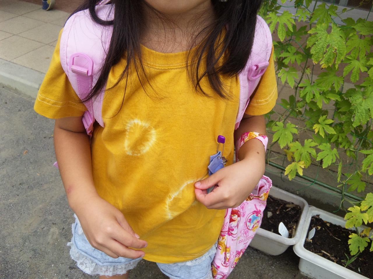 染色Tシャツ